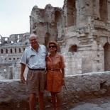 Craxi e la moglie