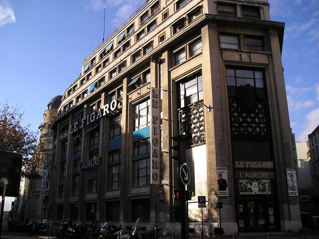 Sede storica del quotidiano Le Figaro