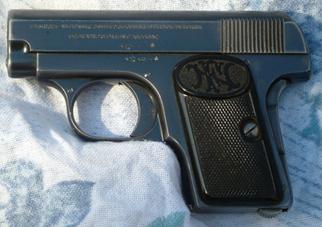 FN 1906 MODELLO A DOPPIA SICURA (senza la sicura sul lato sinistro del castello)