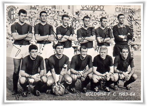 7 giugno 1964, il Bologna vince lo scudetto