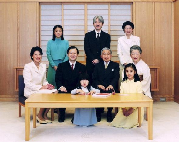 La futura Famiglia Imperiale giapponese