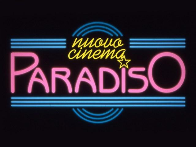 'Nuovo cinema Paradiso'