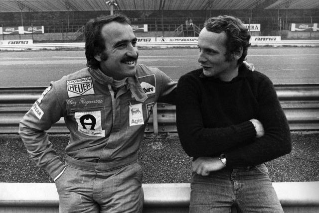 Clay Regazzoni e Niki Lauda