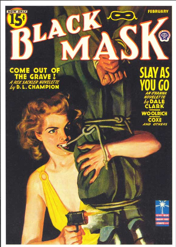 'The Black Mask', 1920/1939: Mencken, Nathan, Hammett, Chandler…