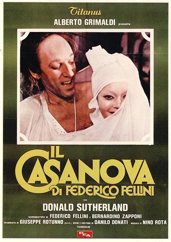 Il 'Casanova' di Federico Fellini e quello di Piero Chiara