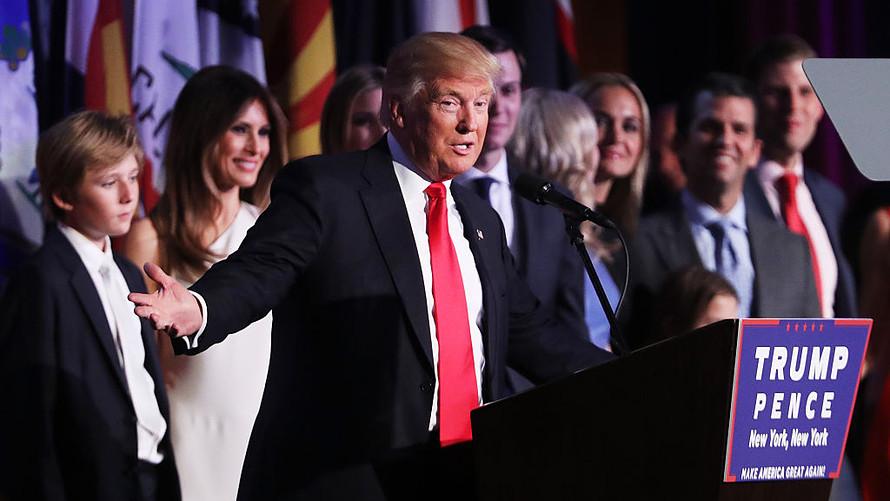 A propos de l'élection de Donald Trump