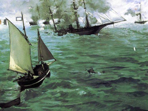 Guerra di Secessione in acque francesi!
