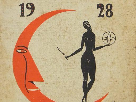 Sfogliando l'Almanacco Letterario Mondadori del 1928
